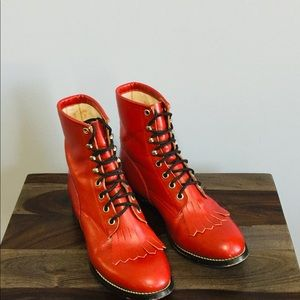 Shoes - Heritage Lacer Vintage Boots